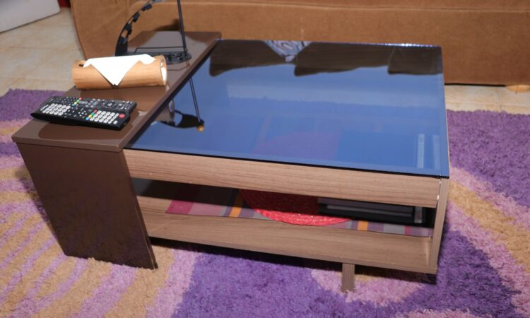 Galss Top Coffee Table 4