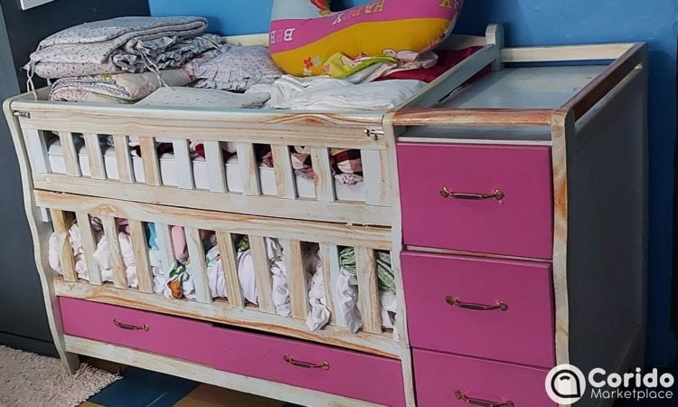 Baby cot with drawer for sale in Kenya