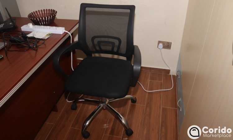 Mesh low back office seat (1)