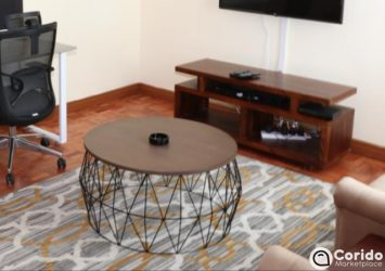 Home round coffee table