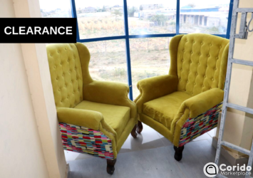 Best Quality Wing Chair price for sale Nairobi, Kenya