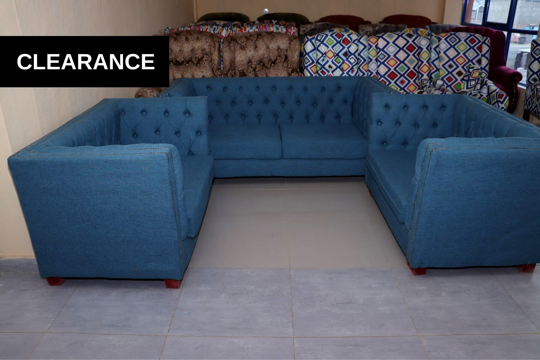 Low Back Chester Sofa