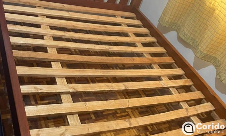 Quality wood 6 x 6 bed