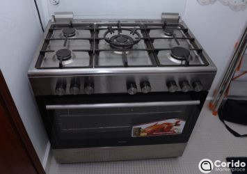 5 Gas Professional Simfer Cooker Oven