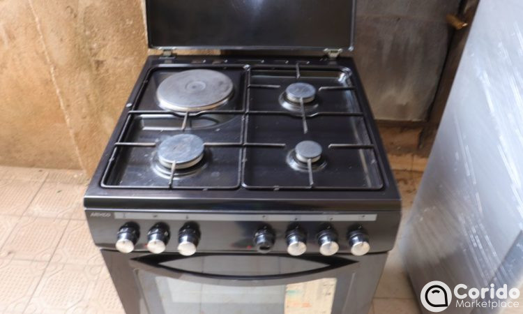ARMCO GC-F6631QX(BK) - 3 Gas, 1 Electric, Gas Cooker.
