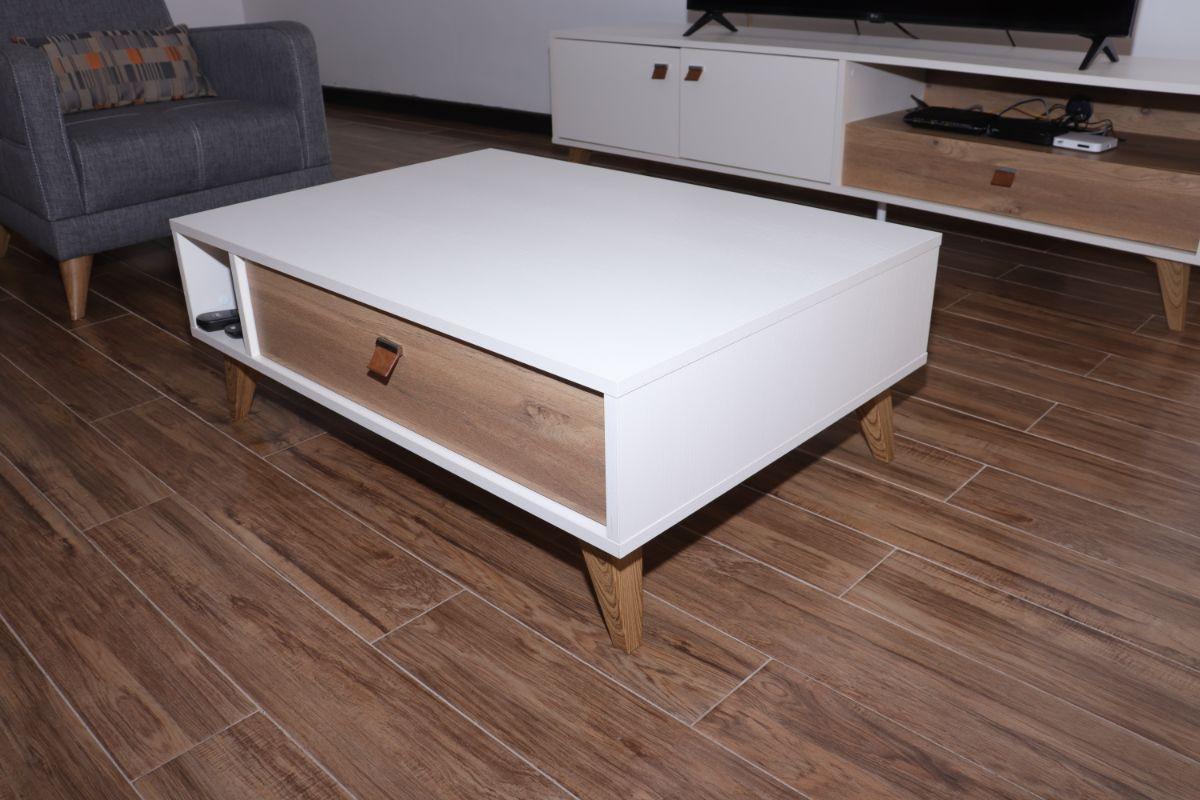 Mayer white Coffee Table
